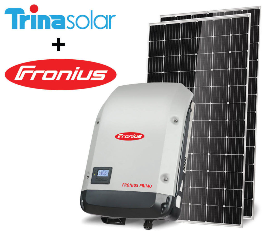 Commercial solar package